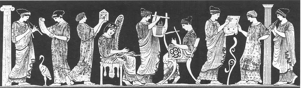 The Nine Muses Were Greek Goddesses Who Ruled Over The Arts And Sciences And Offered Inspiration In Those Subjects They Were The Daughters Of Zeus